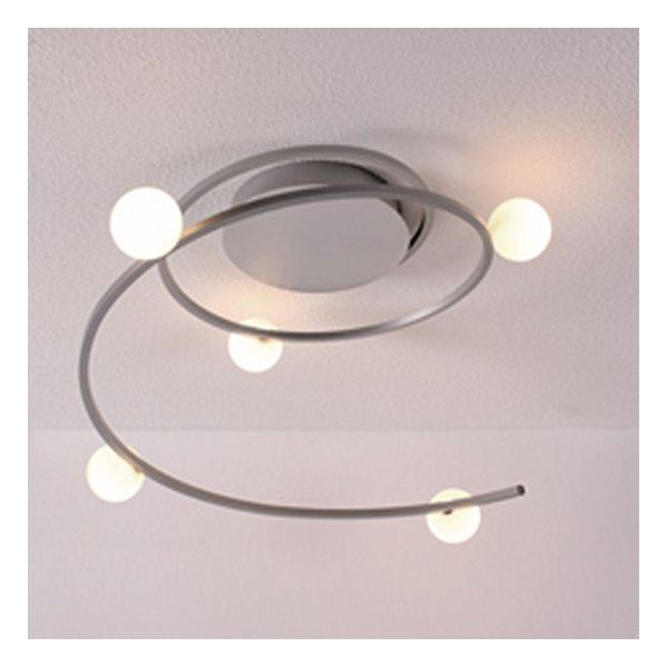 Plafonnier design led narcisse millumine for Plafonnier pour salon