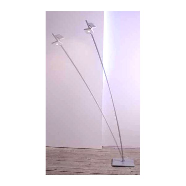 Lampadaire moderne led mosa c millumine for Lampadaires modernes