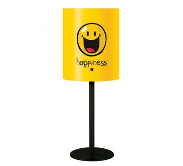 luminaire chambre ado jaune smiley millumine. Black Bedroom Furniture Sets. Home Design Ideas