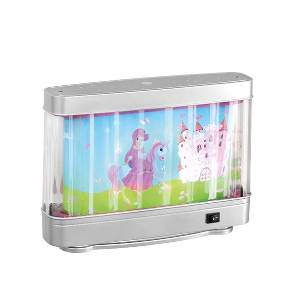 Lampe de chevet enfant fille f rie rose d cor anim for Lampe de chevet tactile enfant