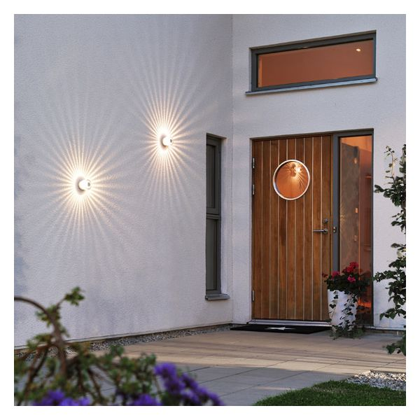 Applique ext rieur ou plafonnier dona led millumine for Applique eclairage exterieur