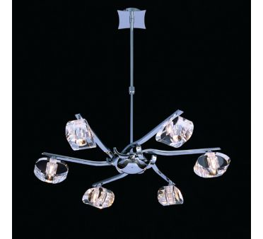 pin lustre luminaire design italien diamond 100 cm on. Black Bedroom Furniture Sets. Home Design Ideas
