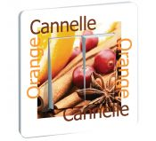 Interrupteur Cuisine Orange Cannelle Double