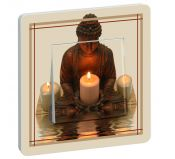 Interrupteur Buddha Meditation