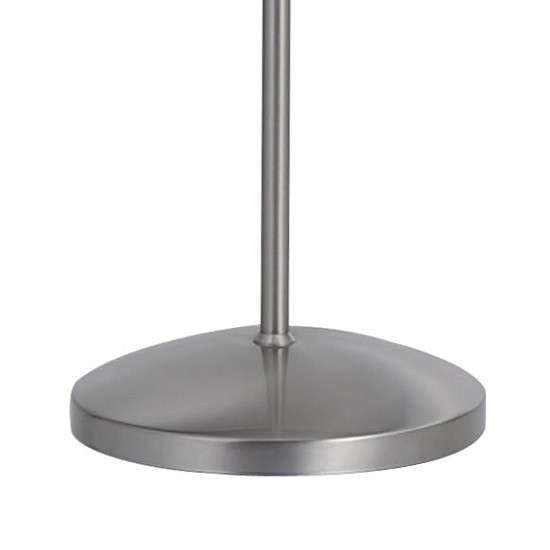 Lampadaire design LED Lilly Nickel mat