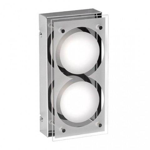 Double Applique murale Industrielle LED Brice