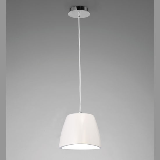 Suspension loft Eggo blanche