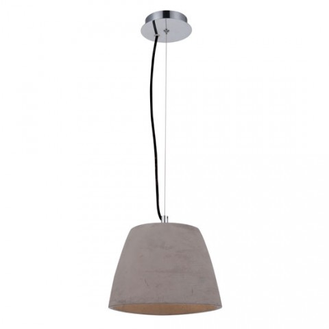 Luminaire suspension Eggo ciment