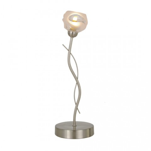 Lampe de salon Bourgeon Nickel