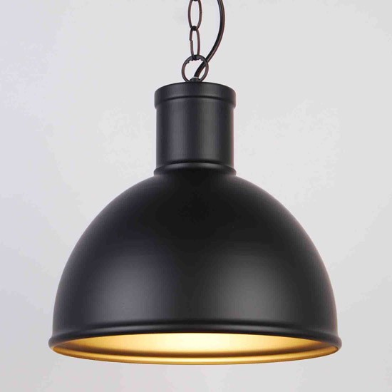 Suspension industrielle Loco Noire