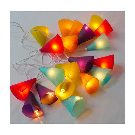 Guirlande Lumineuse Belettes Multicolore 20 ampoules