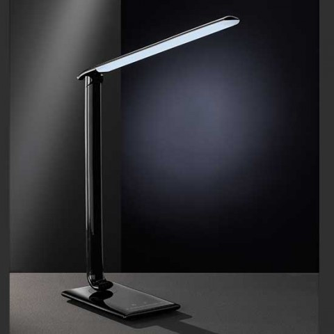 Lampe de bureau LED High-Tech noire