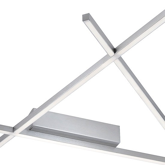 Très Grand Plafonnier design LED Pythagore 350 W Dimmable
