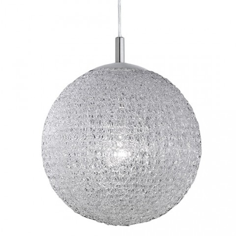 Suspension Design Boule Blanche 40