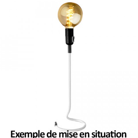 Lampe blanche design Stand UP