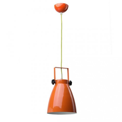 Suspension chambre ado orange Pop's