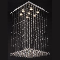 Grande suspension verre Niagara