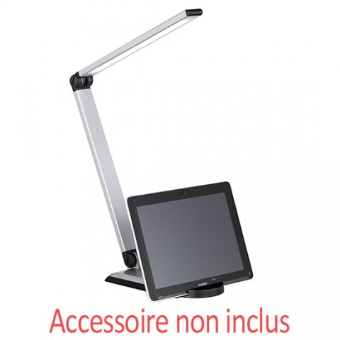 Lampe de bureau LED avec support tablette Cybelle variable