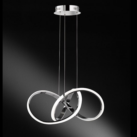 Lustre contemporain à LED Circo dimmable 2800 lumens