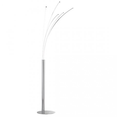 Grand lampadaire LED à 5 branches Liane dimmable