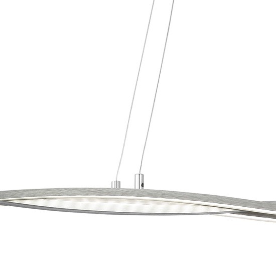 Lustre contemporain LED compatible avec variateur Hawaï