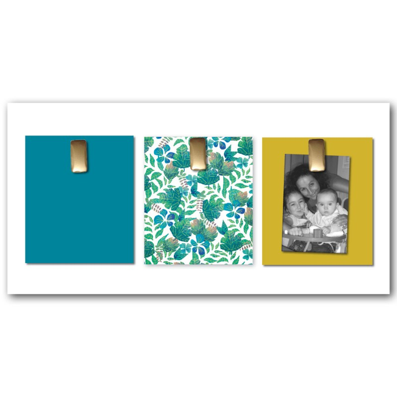 Pele mele design decoration cadre photo pele mele design - Tableau pele mele magnetique ...