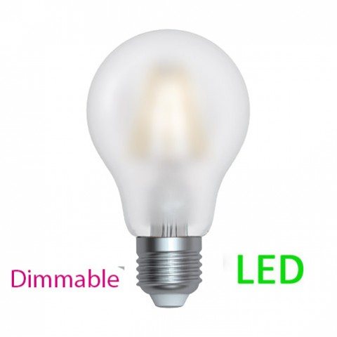 Ampoule LED E27 10 W Blanc chaud dimmable rendu 100 W Filament satiné