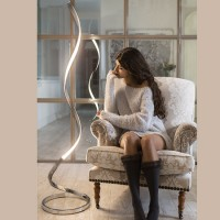 Lampadaire design LED Galaxie lumineux et dimmable 1800 Lm