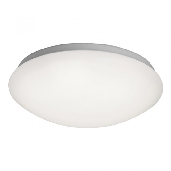 Plafonnier dalle Galet luminaire blanc IP44