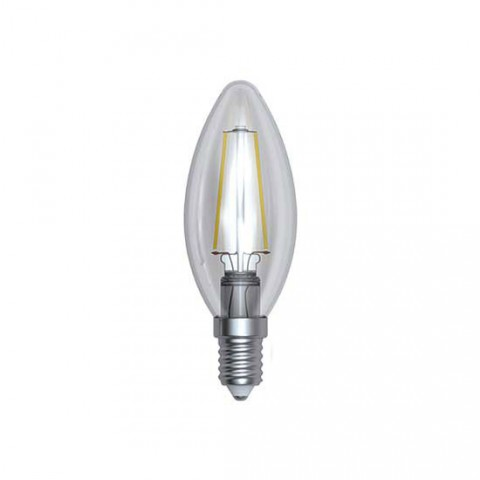 Ampoule Filament LED E14 dimmable 4 W Olive Blanc médium 420 lm