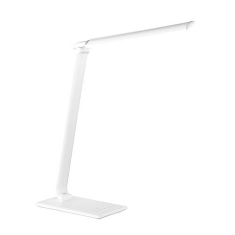 Lampe bureau High-Tech à LED blanche Port USB
