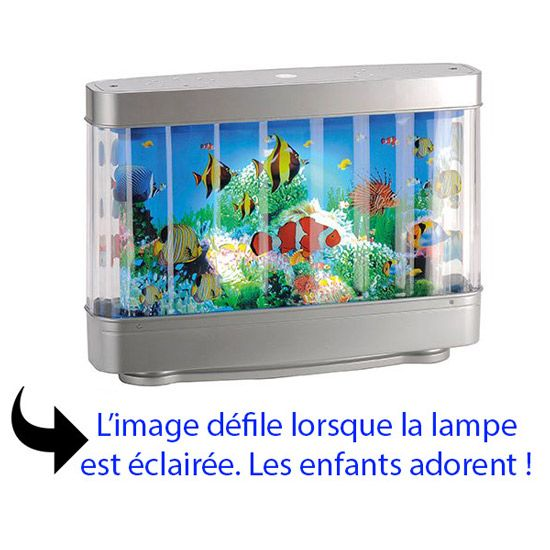 lampe de chevet originale led pour enfant aquarium d cor. Black Bedroom Furniture Sets. Home Design Ideas