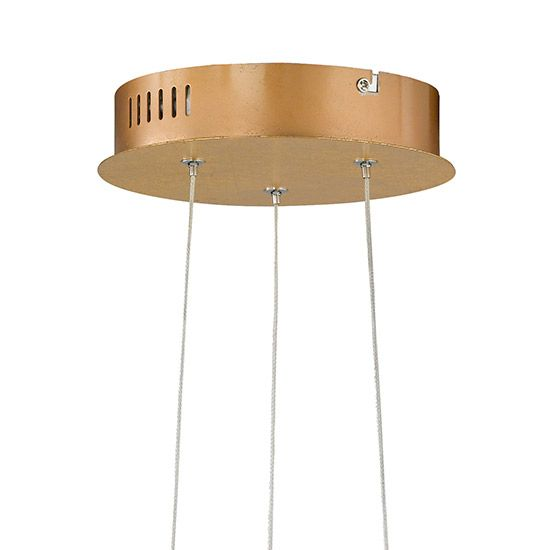 Suspension luminaire Aurate LED couleur OR