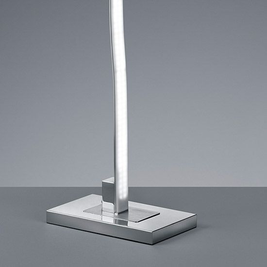 Lampadaire LED Design Onduline Dimmable variateur tactile