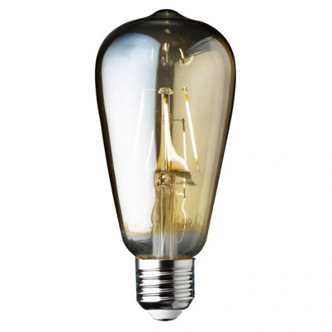 Ampoule Deco Filament style Edisson LED E27 4 W Blanc médium Dimmable