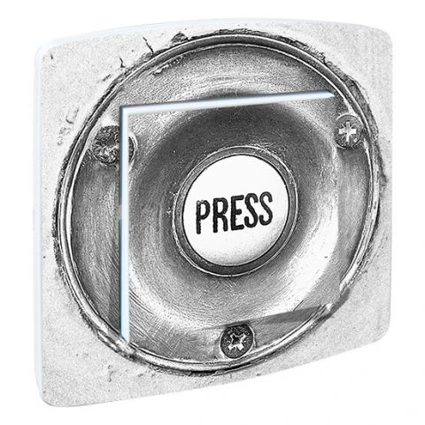 Interrupteur deco Press Gris