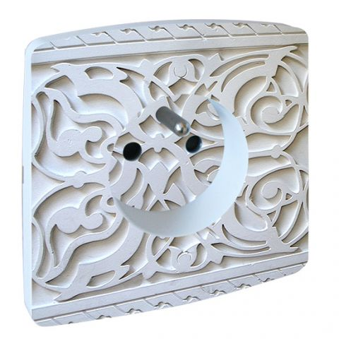 Prise Deco Hager Essensya Arabesque