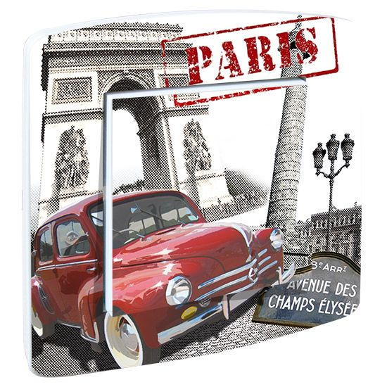 Interrupteur Decore Paris Champs Elysees