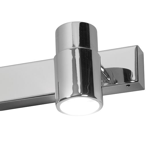 Applique Salle de Bain 3 LED Classe 2 Alliance chrome IP44