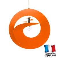 Abat-jour Orange Whirl