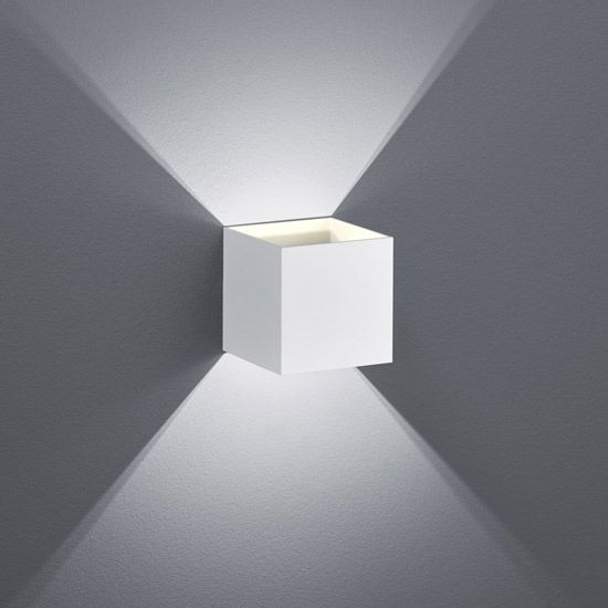 Petite Applique LED Design blanche Up and Down Tramontane