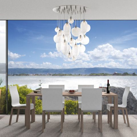 Grande Suspension Design 28 Galets