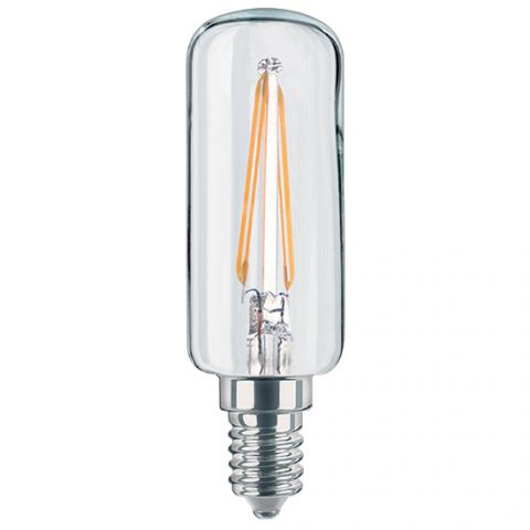 Ampoule LED tube Filament E14 750 lm blanc chaud diamètre etroit HOTTE