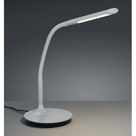 Lampe bureau grise flexible dimmable Brio