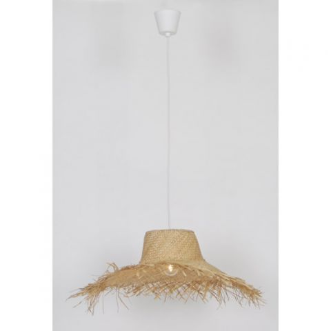 Lustre design Paille naturelle Ballade nature