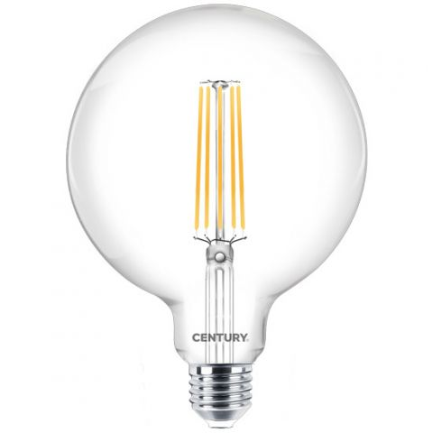 Ampoule LED E27 10 W Globe equivalent 100 W blanc FROID