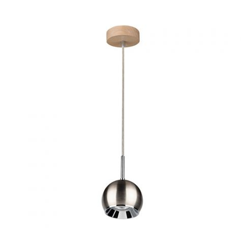 Suspension ISIDORE boule metal 1 lampe