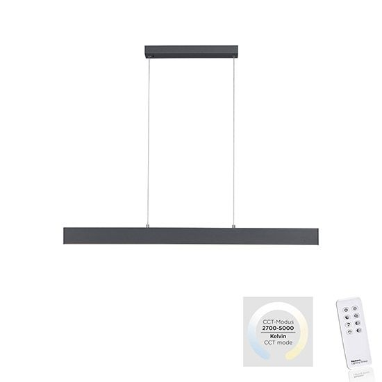Grande suspension réglable Lina dimmable