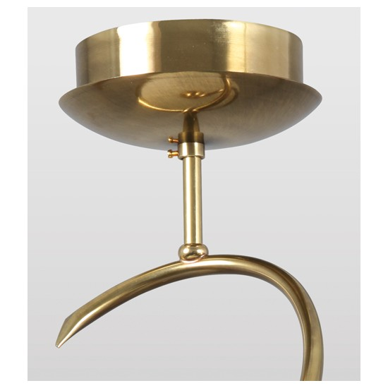Lampe Lustre Blanc Or