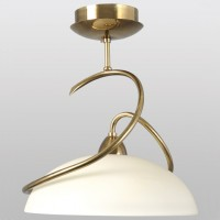 Lampe Lustre Champagne Or